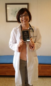 Dr. Holly Delanoy of Rio Grande Veterinary Clinic.
