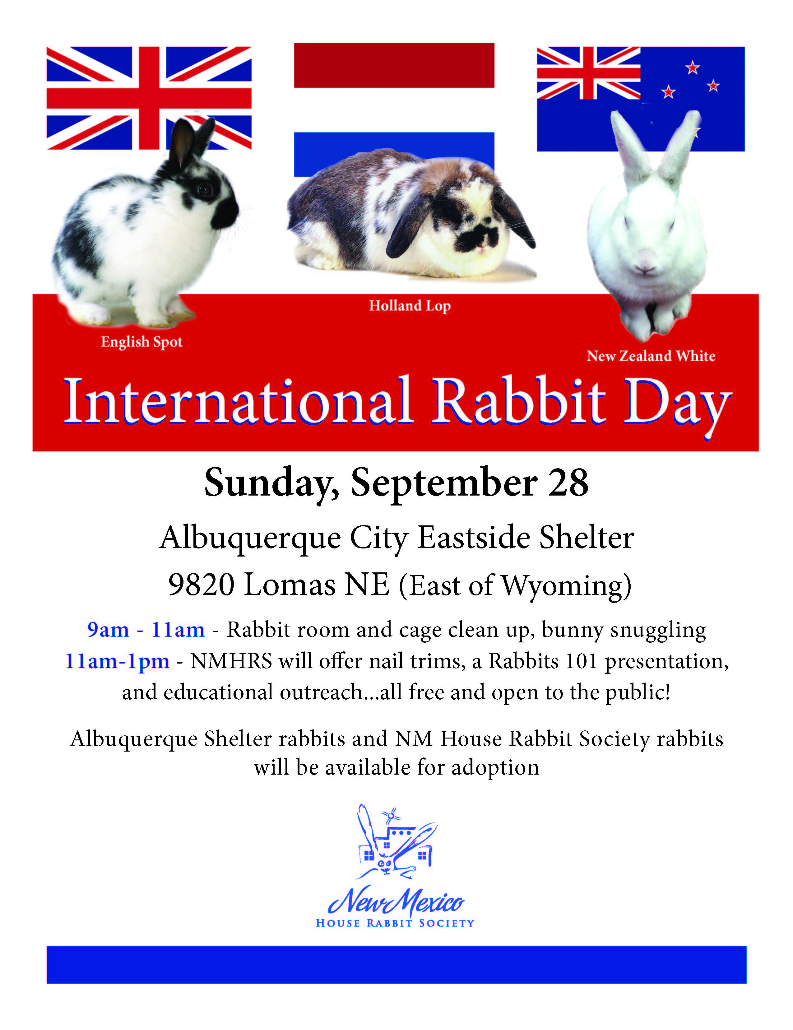 International Rabbit Day ⋆ Cards, Pictures. ᐉ Holidays