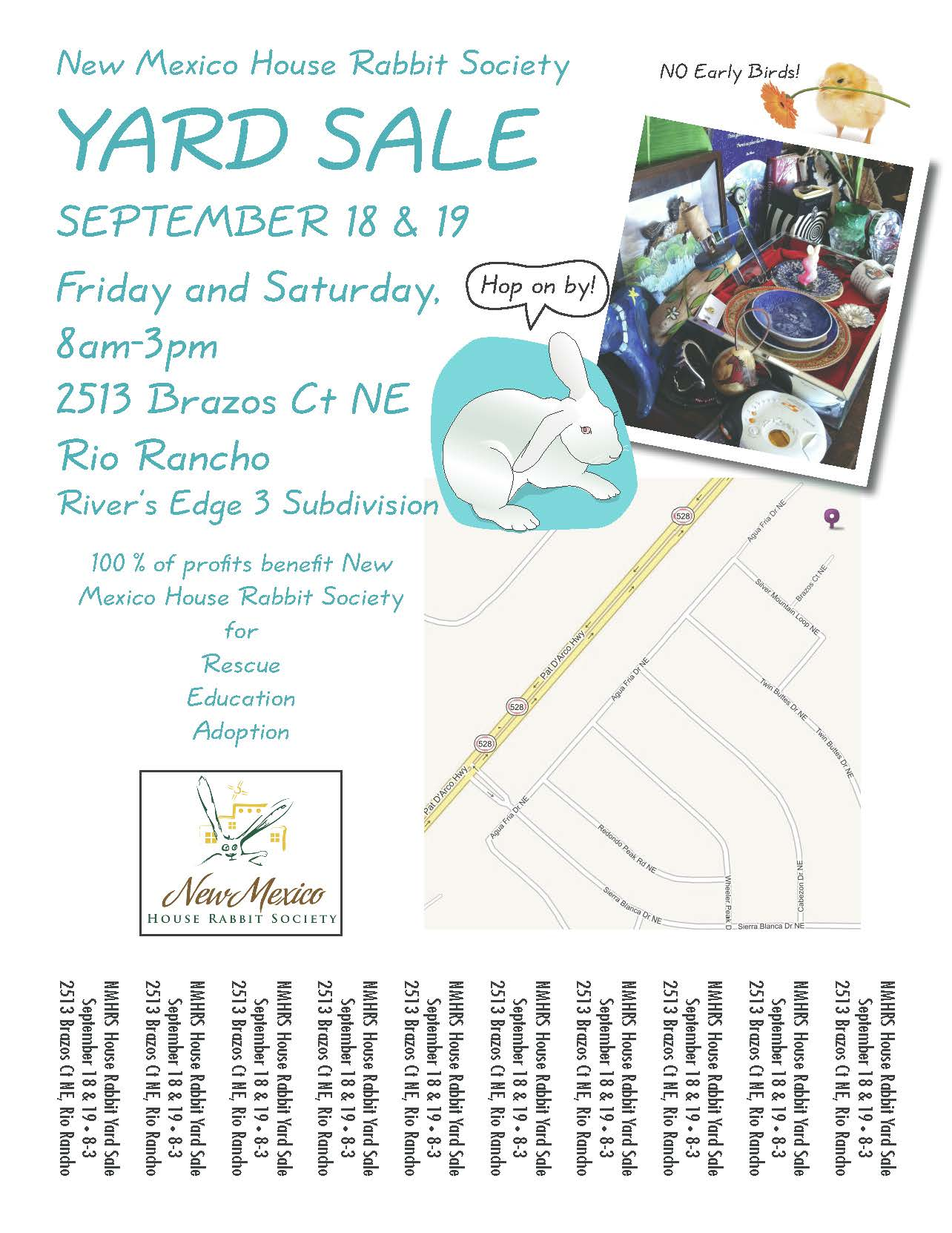 Yard Sale flyer 15