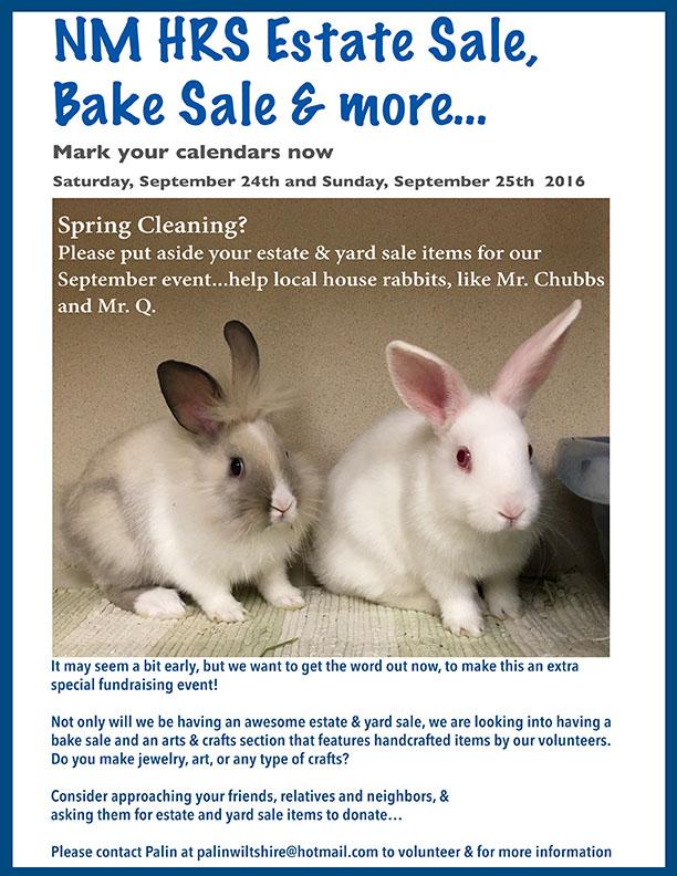 NM Hrs yard sale request web