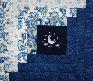 detail of the quilt